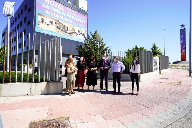La Alcaldesa Noelia Posse agradece al Hotel Ciudad de Móstoles su labor durante la emergencia sanitaria provocada por el coronavirus