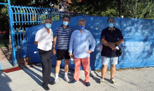 El Móstoles CF comienza la pretemporada en el campo municipal Andrés Torrejón del Soto