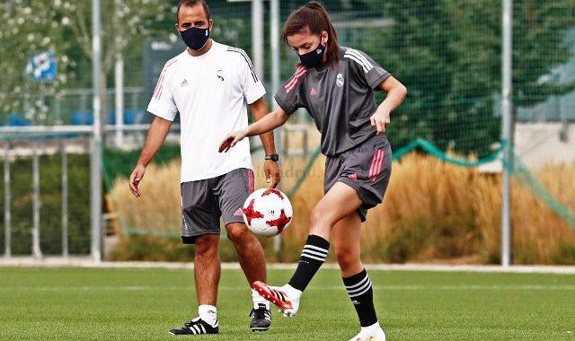 El Real Madrid B comenzó a entrenar en la Ciudad Real Madrid bajo la dirección de Miguel Ángel Sopuerta