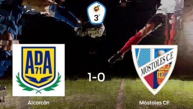 El Móstoles CF suma su 3ª derrota ante el Alcorcón B (1-0)