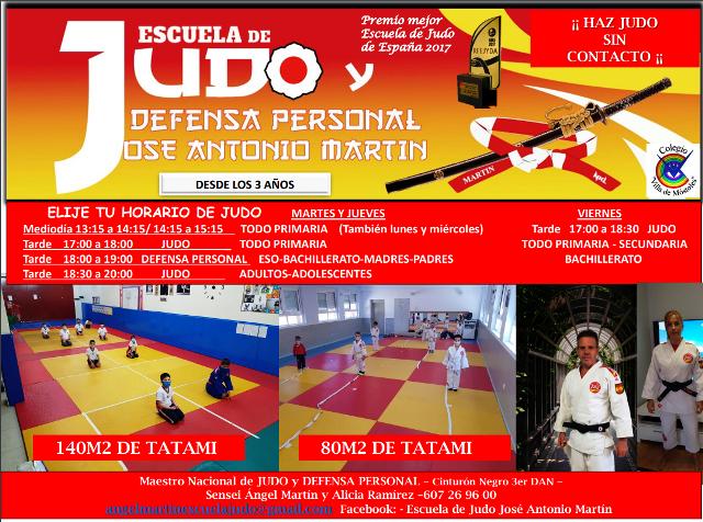 Judo en el Colegio Bilingüe Villa de Móstoles