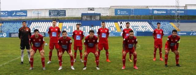 El Móstoles CF, se imponía al Villaverde San Andrés por 1-0, y en el descanso le suspenden el partido.