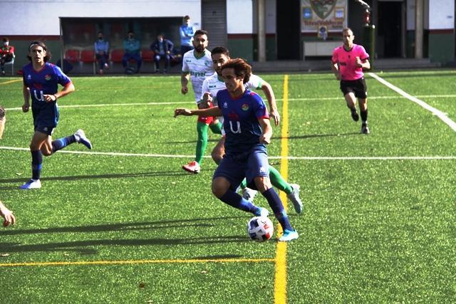 El CD Móstoles URJC golea al Trival Valderas en el estadio La Canaleja (0-4)