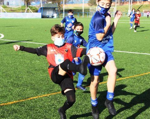 Partidos amistosos entre los equipos base del Mostoles CF y el nuevo club mostoleño CD Techniteam
