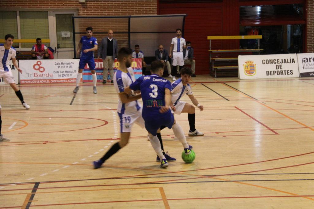 El Ciudad de Mostoles FS se impone en el derbi por 3 goles a1 al CD Leganes FS