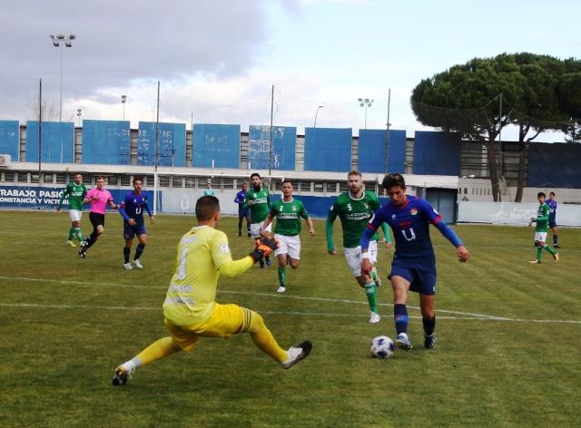 Trabajo, pasión y victoria para el Móstoles URJC ante el Álamo (1-0)
