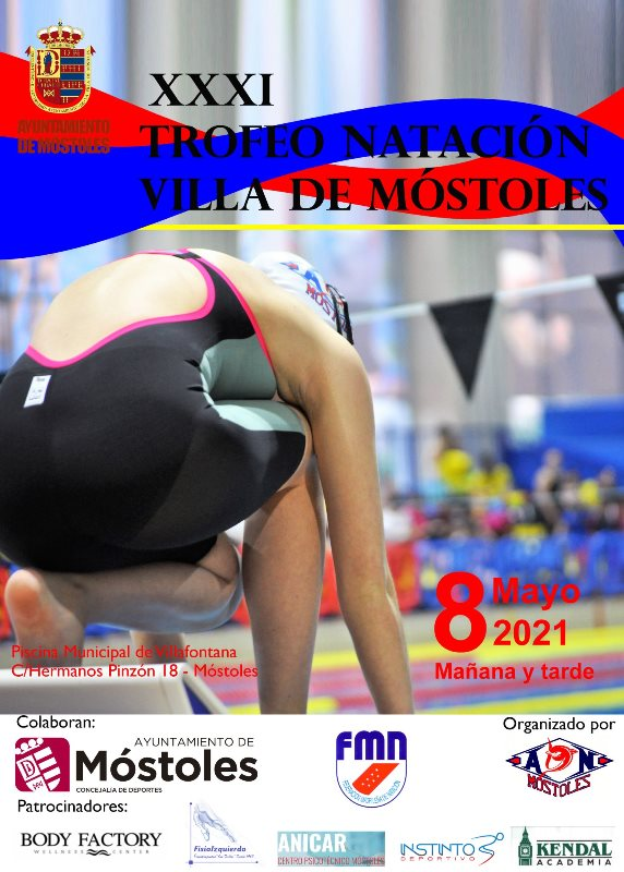31 edición del Trofeo de Natación Villa de Móstoles.
