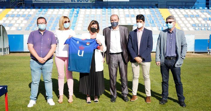 La Alcaldesa felicita al CD Móstoles URJC, tras su histórico ascenso a la Segunda División RFEF