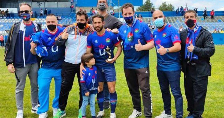 Chupe recibe el Premio 'Peñazos' de la temporada 2020/21