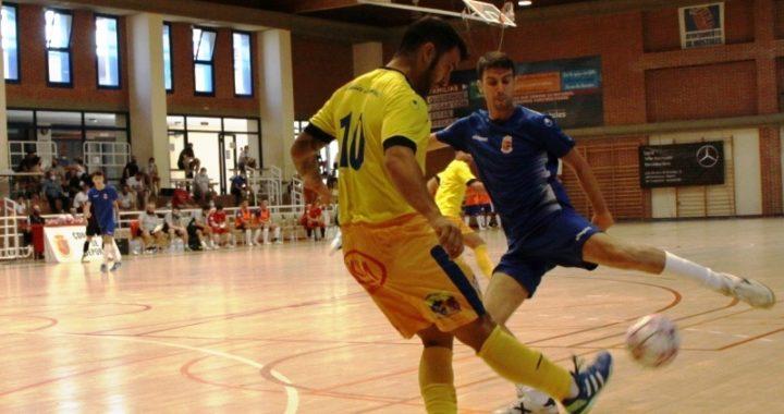 Fútbol sala de plata en el Villafontana de Móstoles