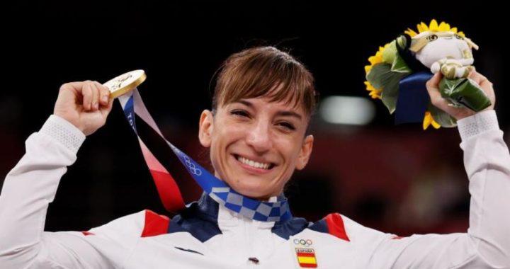 Sandra Sánchez, logra el oro en los Juegos Olímpicos  de Tokio 2020