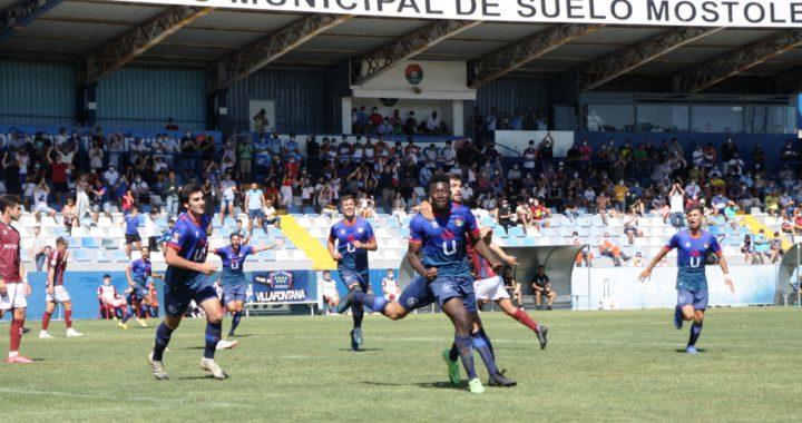 La escuadra azulona suma su primer punto en el Estadio Municipal El Soto